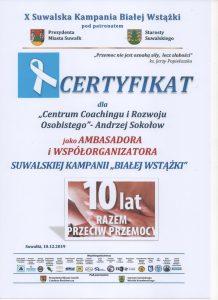 Certyfikat, dokument